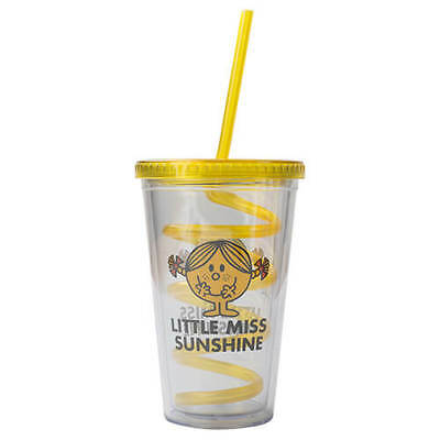 Mr Men Little Miss Sunshine Cup With Straw
