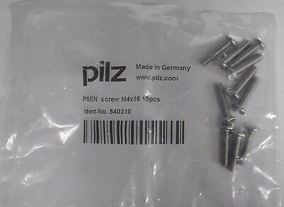 PILZ PSEN 540310 M4 x 16 Screw 10/bag Qty: 5 bags
