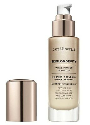 Bare Minerals Skinlongevity Vital Power Infusion 50ml New *FAST POST* rrp. £45