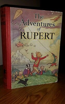 Adventures of Rupert annual 1939 Facsimile