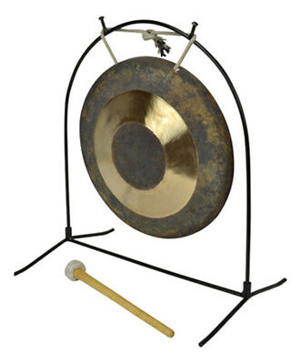 10 inches Chau Gong With Tabel Stand & Mallet by Bryce