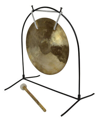 10 inches Wind Gong With Tabel Stand & Mallet by Bryce