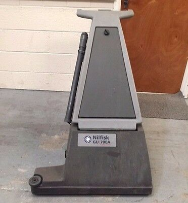 Nilfisk Advance Gu 700A Industrial  Commercial Upright Vacuum Heavy Duty Cleaner