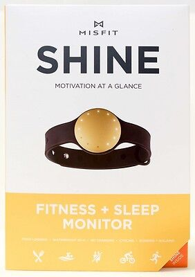 NEW MISFIT SHINE MOTIVATION AT A GLANCE FITNESS + SLEEP MONITOR  multi colours