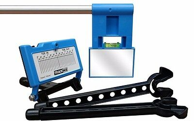 Trackace Laser Wheel Alignment Gauge, Front End Tire Tracking Tool, Car or Truck
