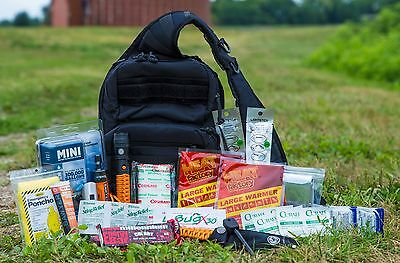 72 Hour Bug Out Bag Survival Backpack Emergency 3 Day Disaster Pack Car Kit EDC
