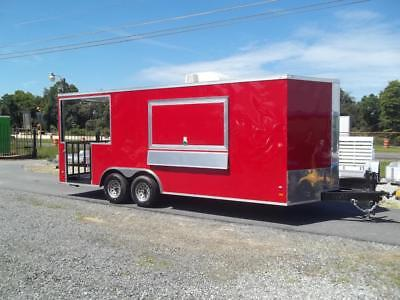 8 x 20 enclosed concession bbq porch trailer new 2019 vending tailgating w sinks