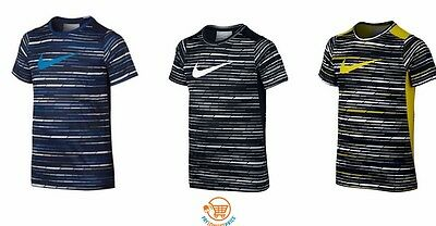 Brand New Nike Boys' Legacy Striped Tee T-Shirt Choose Size and Color