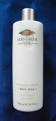 """MANDARA SPA-HONEYMILK DREAM"" BATH MILK WITH ACACIA, HONEY & ALMOND 500ml (NEW)"