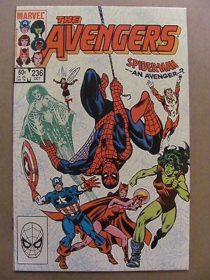 Avengers #236 Marvel Comics 1963 Series Spider-Man app 9.4 Near Mint