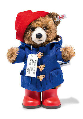 Steiff Paddington Teddy Bear Limited Edition - UK & US Exclusive - EAN 690310