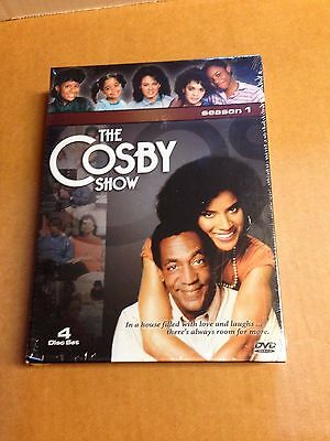 Sealed The Cosby Show - Season 1 DVD, 4-Disc Set with Free Shipping