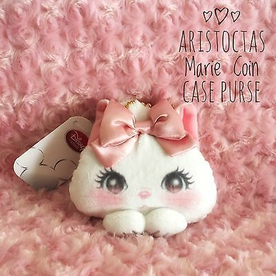 Disney Japan Cute Aristocats Marie Cat Coin Pause From Tokyo
