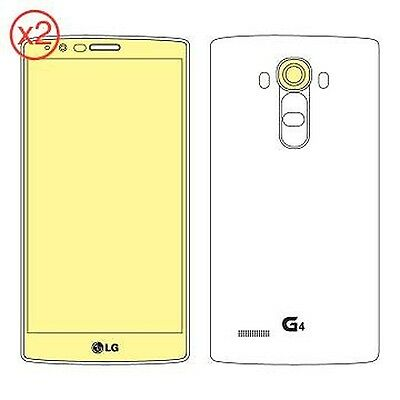 Martin Fields Overlay Plus Screen Protector (LG G4) Twin Pack - Includes Came...