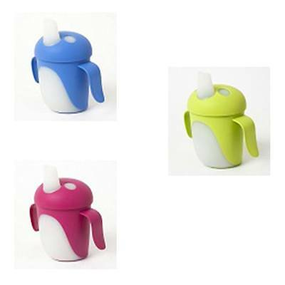 Haberman Non-Spill Sippy Bird Cup Green/Pink/Blue NEW IN!!!!