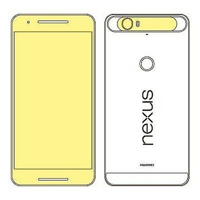 Martin Fields Overlay Plus Screen Protector (Google Nexus 6P) - Includes Came...