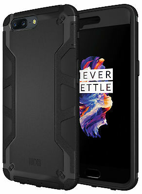 TUDIA Ultra Tough OMNIX Heavy Duty Protective Case for OnePlus 5