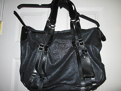 Nike Womens Gym Bag/Oversized Purse/Overnight Tote/Travel Shopping Bag