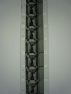 VINTAGE 1950S '' PINUP GIRL '' 16mm Film...RISQUE,STAG,BURLESQUE..# 97-D