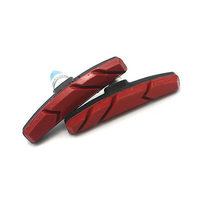 1 Pair MTB Bike V-Brake Pads Blocks Stop Shoes For Mountain Bicycle Cycling