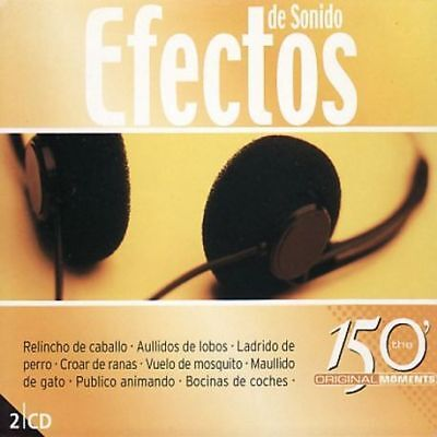 Efectos De Sonido - 150 Minutos The Original Moments - 2Cds [Cd]