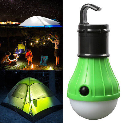Camping Hanging Hike LED Light Bulb Tent Fishing Lantern Outdoor Accessories