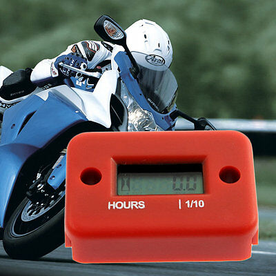 Hour Meter for Motorcycle ATV Snowmobile Marine Boat Yama Ski Dirt Quad Bike TY