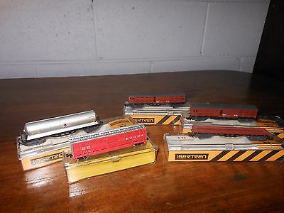 'n' Scale Set Of Five Freight Wagons