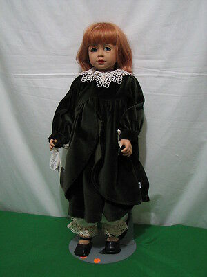 "Gotz Joke Grobben ""fabienne"" Doll 1997 Le 1000 25"" Tall Vinyl Please Read"