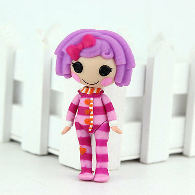 New purple 3Inch Original MGA Lalaloopsy Dolls Mini Dolls For Girl's Toy