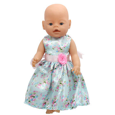 1set Doll Clothes Wear For 43cm Baby Born zapf (only sell clothes ) MG-75