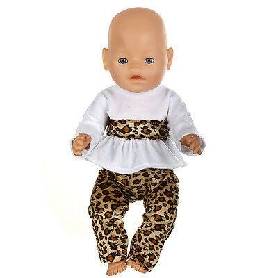 1set Doll Clothes Wearfor 43cm Baby Born zapf (only sell clothes ) MG-536