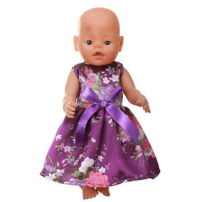 1set Doll Clothes Wearfor 43cm Baby Born zapf (only sell clothes ) MG-532