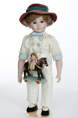 Jody and the Toy Horse ltd ed collectible boy doll by Jan Hagara