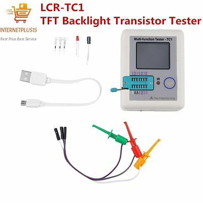 LCR-TC1 TFT Screen Display Multi-functional TFT Backlight Transistor Tester OK