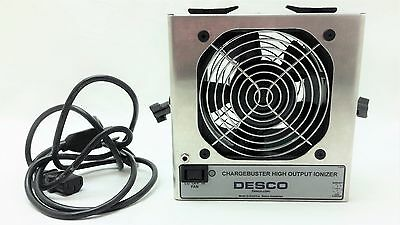 Desco 60500 Chargebuster Benchtop Ionizer High Output Anti-Static Cord Cartridge