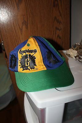NOS 1990s Boys' Girls' Goosebumps Red Blue Green Yellow Snapback Baseball Cap