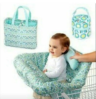 Comfort and Harmony Bright Starts Deluxe Cart and High Chair Cover Set