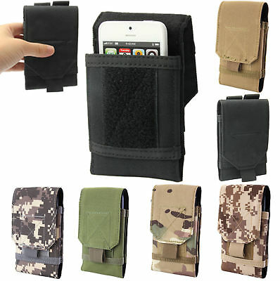 Outdoor Army Tactical Mobile Cell Phone Pouch Holster Case Bag Holder Belt