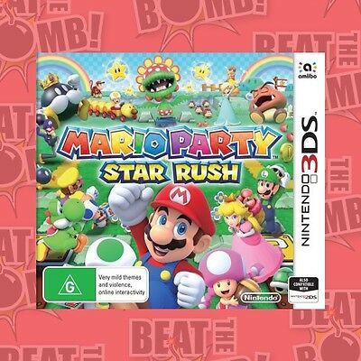 Mario Party Star Rush  - 3DS game - BRAND NEW