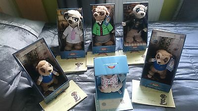Official Set Of 6 Compare The Market Meerkats Toys With Certificates