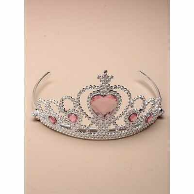 Tiara Girls Adults Pink Silver Princess Play Party costume fancy dress Frozen