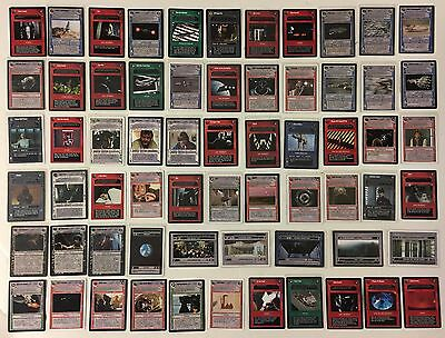105 Mixed Lot Star Wars CCG Rare, Premium, SE, Uncommon Decipher Trading Cards