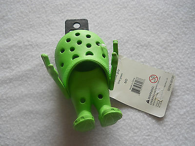 """NWT! CROCS Shoe Co. Advertising Croslite """"GUY""""  Lime Green  - Collectible!!"""