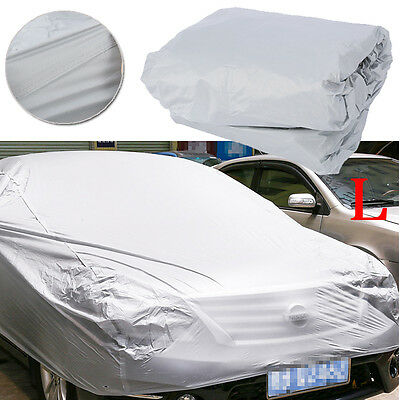 TOP Large Universal Full Car Cover Anti Waterproof Dust Scratch UV Resistant