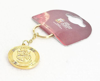 British And Irish Lions Rugby Gold Coin Key Ring 2013 Australia Tour