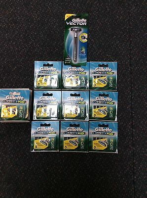 100% Genuine Gillette Vector Razor With 20 Pkts Of 5 Gillette Slalom Refills.