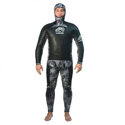 H.dessault Duo Camo 7.5  spearfishing wetsuit