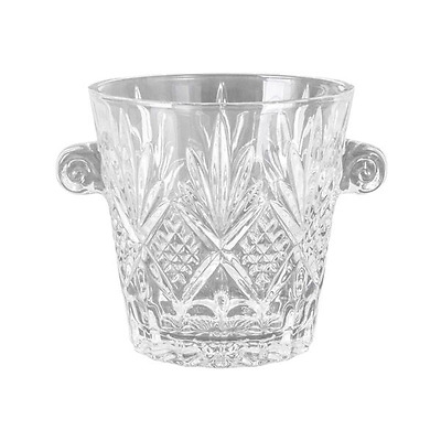New Clear Glass Dublin Ice Bucket 17Cm H