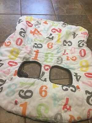 Infantino Cloud Shopping Cart Cover / High Chair Cover Numbers